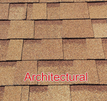 architectural asphalt shingle