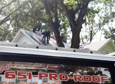 Stacy, Minnesota Storm Damage Repairs from the 8-26-2018 Hail Storm