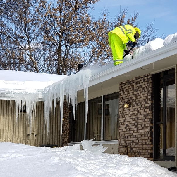 Ice Dam Removal St Paul Roofing Contractor Anoka Mn