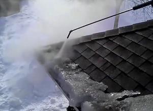 Ice Dam Snow Removal