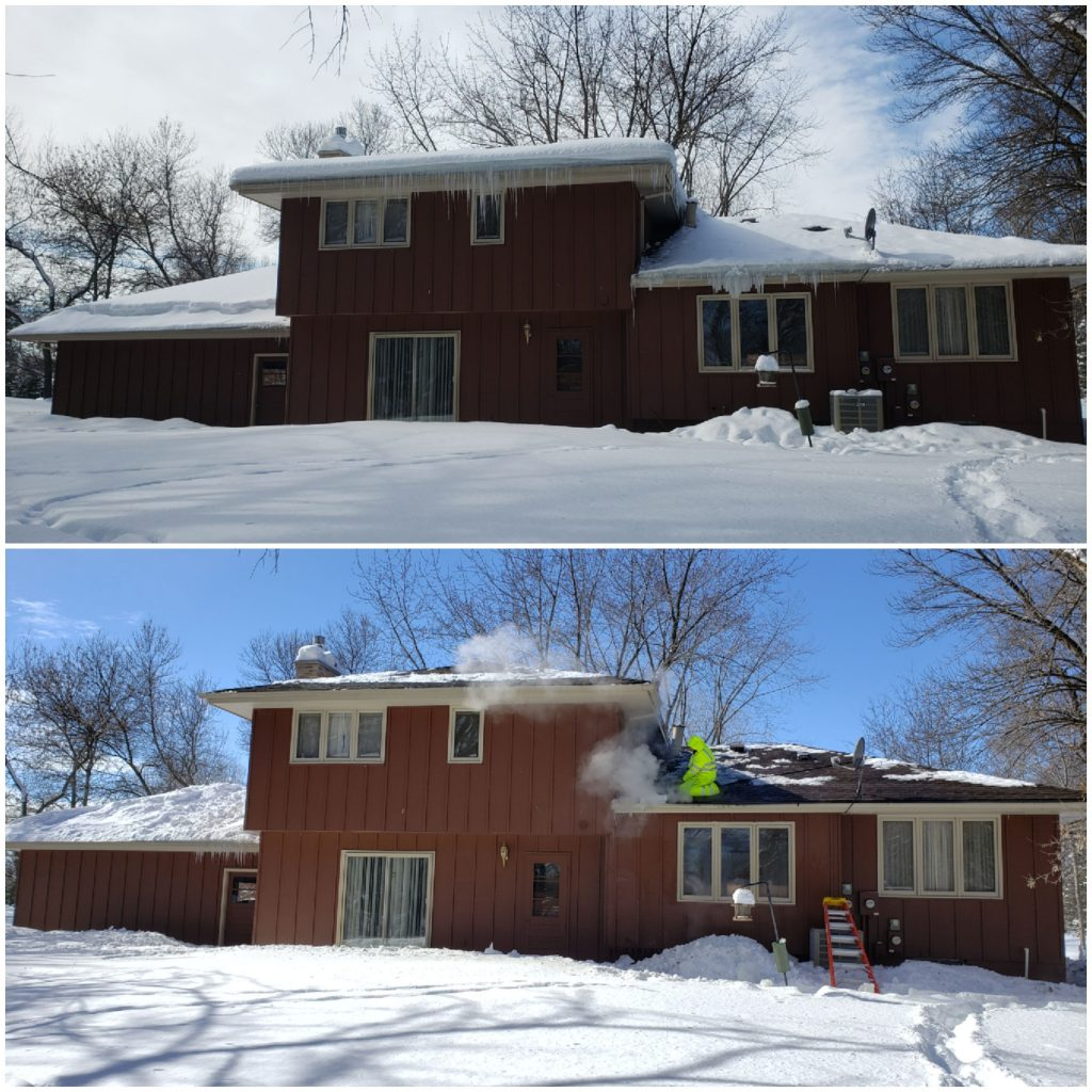 Mn Ice Dam Removal Roofing Contractor Anoka Mn Siding