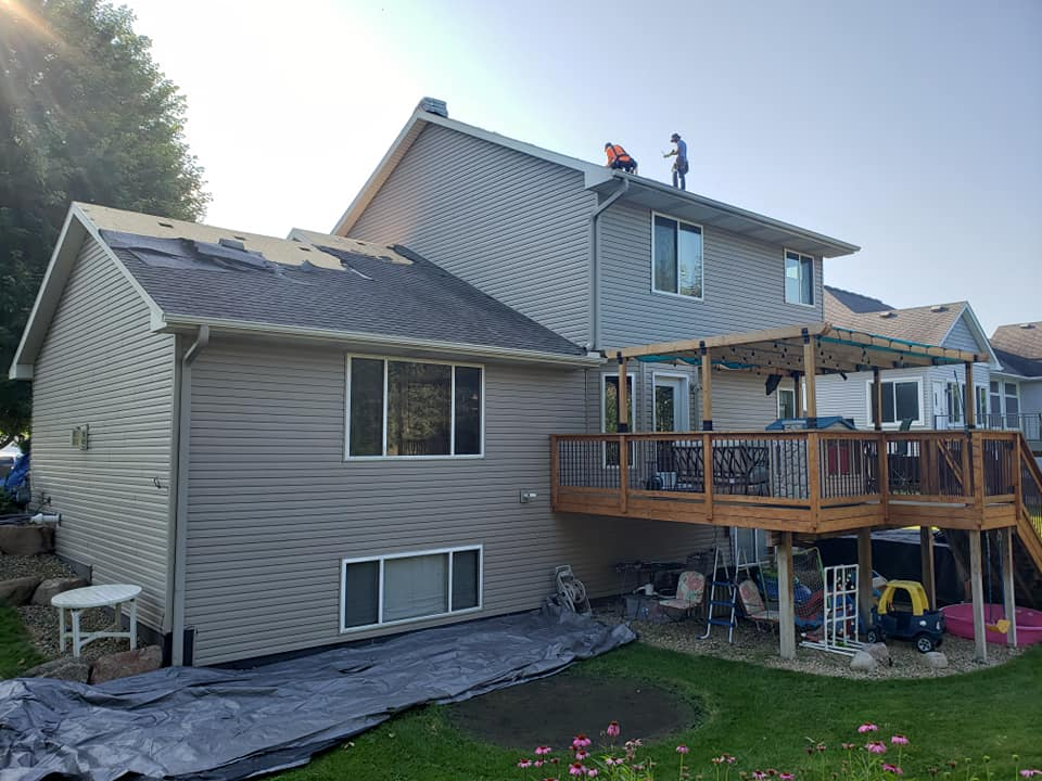 Residential Storm Damage Insurance Claim Contractor White Bear Lake