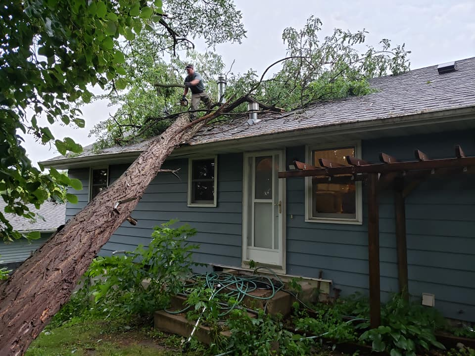 Timely Storm Damage Repairs in Hugo MN