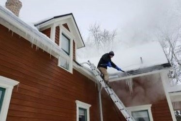 Ice Dam Removal Services in Ham Lake, MN