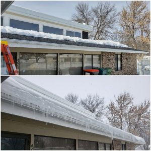 Roof Ice Removal in East Bethel